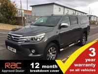 2017 TOYOTA HI-LUX Double Cab 2.4 Invincible 4WD D-4D 150ps £16995.00
