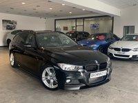 USED 2015 64 BMW 3 SERIES 2.0 325D M SPORT TOURING 5d AUTO 215 BHP BM PERFORMANCE STYLING+SAT NAV