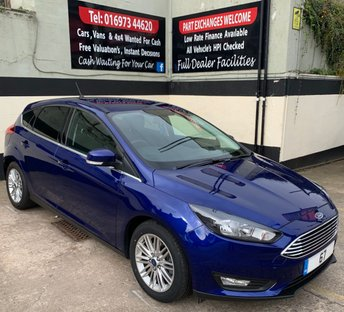 2017 FORD FOCUS ZETEC EDITION 1.5 TDCI 5DR 120 BHP, FORD SYNC 3 NAVIGATION. £11250.00