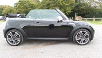 USED 2009 59 MINI CONVERTIBLE 1.6 COOPER S 2d 175 BHP 2 X KEYS, TIMING CHAIN AND TENSIONERS JUST CHANGED, ELECTRIC ROOF, AIR-CONDITIONING, REMOTE LOCKING, ELECTRIC MIRRORS, ELECTRIC WINDOWS, METALLIC PAINT, CLIMATE CONTROL, HEATED SCREEN, ALLOY WHEELS, 6SPD GEAR BOX, NATION WIDE DELIVERY