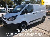 2016 FORD TRANSIT CUSTOM *EURO 6* 2.0 270 L1 SWB 104 BHP *HIGH SPEC* £8995.00