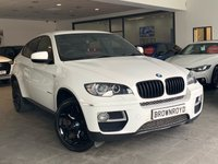USED 2014 14 BMW X6 3.0 XDRIVE40D 4d AUTO 302 BHP RED LEATHER+SAT NAV+LOW MILES