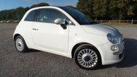 2010 FIAT 500 1.2 LOUNGE 3d 69 BHP £3250.00