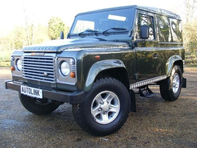 2007 07 LAND ROVER DEFENDER 90 SWB Diesel County Hard Top TDCi
