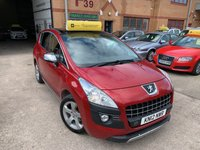 USED 2012 12 PEUGEOT 3008 1.6 EXCLUSIVE HDI 5d 112 BHP