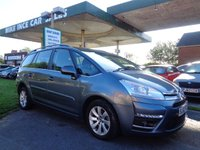2012 CITROEN C4 GRAND PICASSO 1.6 VTR PLUS HDI 5d 110 BHP 7 SEATS £4495.00