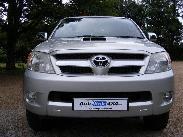 2007 07 TOYOTA HI-LUX Invincible 4x4 D-4d Double Cab