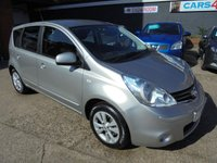 USED 2010 10 NISSAN NOTE 1.6 ACENTA 5d AUTO 110 BHP