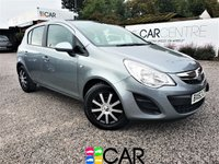 USED 2013 63 VAUXHALL CORSA 1.4 EXCLUSIV AC 5d AUTO 98 BHP 2 PREV OWNERS + FULL SERVICE