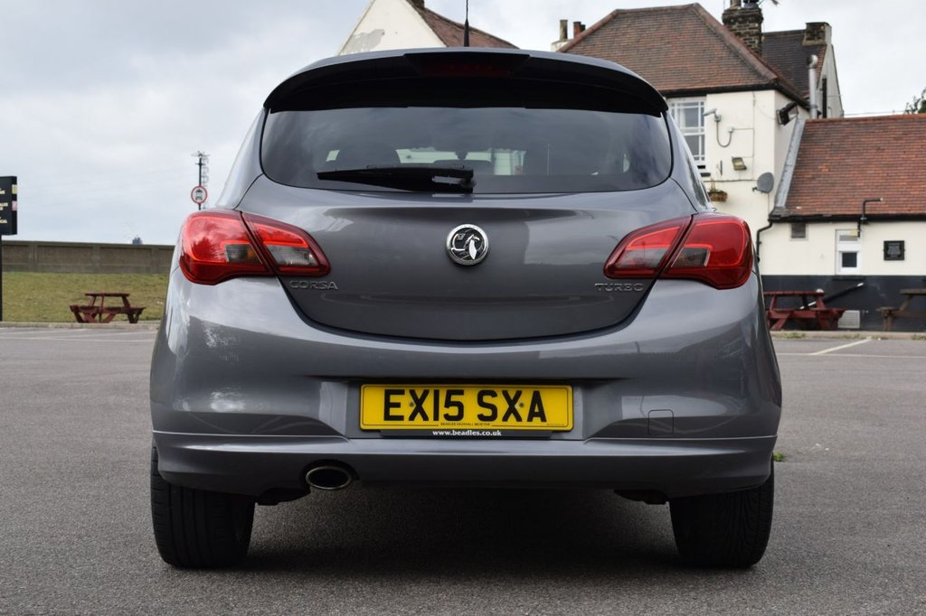 USED 2015 15 VAUXHALL CORSA 1.4 LIMITED EDITION S/S 3d 99 BHP