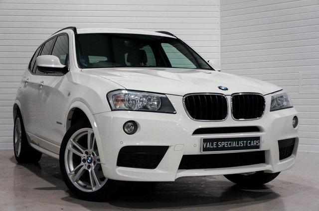 2012 62 BMW X3 2.0 XDRIVE20D M SPORT AUTO (SAT NAV)