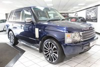 USED 2002 02 LAND ROVER RANGE ROVER 4.4 V8 VOGUE AUTO 282 BHP FULL HEATED LEATHER 22'S