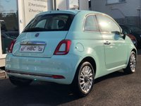 USED 2016 16 FIAT 500 1.2 LOUNGE 3d 69 BHP SMOOTH MINT GREEN! FINANCE ME TODAY...