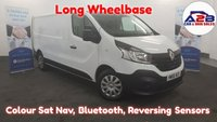 USED 2016 66 RENAULT TRAFIC 1.6 BUSINESS DCI  120 BHP Long Wheelbase, LOW MILEAGE 20446 MILES, Colour Sat Nav, Bluetooth, Electric Pack, Rear Parking Sensors and much more.... ** Drive Away Today** Over The Phone Low Rate Finance Available, Just Call us on 01709 866668 **