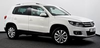 USED 2014 14 VOLKSWAGEN TIGUAN 2.0 TDI BlueMotion Tech Match DSG 4WD (s/s) 5dr Sat Nav, B/Tooth, DAB Radio ++