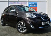 USED 2016 66 NISSAN MICRA N-TEC 1.2 Petrol 5dr Hatchback with Great High Spec and Brilliant Full Nissan Service History PERFECT FAMILY HATCHBACK
