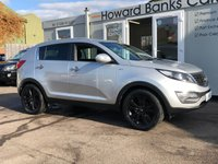 USED 2010 60 KIA SPORTAGE 2.0 FIRST EDITION 5d 160 BHP WOW! HEATED LEATHER FRONT & REAR