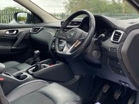 """USED 2017 67 NISSAN QASHQAI 1.5 DCI TEKNA 5d 108 BHP ONE PREVIOUS OWNER, PANORAMIC ROOF, SAT NAV, BOSE SOUND SYSTEM, BLUETOOTH, CRUISE CONTROL, 19"""" ALLOYS, HEATED SEATS, ELECTRIC SEATS, REVERSE CAMERA, PARKING SENSORS, JUST BEEN SERVICED, SPARE KEY"""