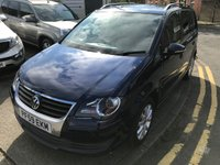 USED 2009 59 VOLKSWAGEN TOURAN 2.0 MATCH TDI 5d 138 BHP 12 MONTHS COMPREHENSIVE PARTS AND LABOUR WARRANTY AND 12 MONTHS BREAKDOWN COVER AT SCREEN PRICE