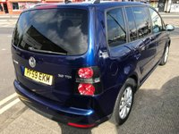 USED 2009 59 VOLKSWAGEN TOURAN 2.0 MATCH TDI 5d 138 BHP