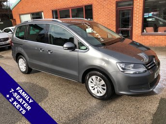 2016 VOLKSWAGEN SHARAN 2.0 SE TDI BLUEMOTION TECHNOLOGY 5DOOR 148 BHP £13350.00