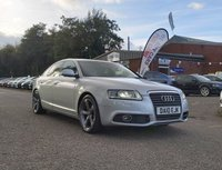 USED 2010 10 AUDI A6 2.0 TDI LE MANS 4d 168 BHP FULL LEATHER TRIM *  HEATED SEATS *   PARKING AID *   CRUISE CONTROL *  FULL YEAR MOT *  TRACTION CONTROL *