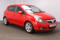 USED 2010 10 VAUXHALL CORSA 1.2 SXI A/C 5DR 83 BHP SERVICE HISTORY + MULTI FUNCTION WHEEL + AIR CONDITIONING + RADIO/CD/AUX + PRIVACY GLASS + ELECTRIC WINDOWS + ELECTRIC MIRRORS + 16 INCH ALLOY WHEELS