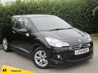 USED 2014 14 CITROEN DS3 1.2 DSIGN PLUS 3d * AMAZING VALUE * IDEAL FIRST CAR*