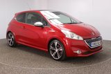 USED 2015 15 PEUGEOT 208 1.6 THP GTI LIMITED EDITION 3DR 200 BHP SERVICE HISTORY + BLUETOOTH + CRUISE CONTROL + CLIMATE CONTROL + MULTI FUNCTION WHEEL + DAB RADIO + ELECTRIC WINDOWS + RADIO/AUX/USB + ELECTRIC MIRRORS + ALLOY WHEELS