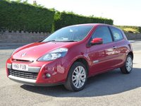 USED 2011 61 RENAULT CLIO 1.1 DYNAMIQUE TOMTOM 16V 3d 75 BHP Finance Options Available - Good Credit / Bad Credit