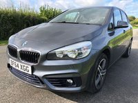 2015 BMW 2 SERIES 2.0 218D SPORT ACTIVE TOURER 5d AUTO 148 BHP £10695.00