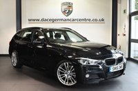 "USED 2016 16 BMW 3 SERIES 3.0 330D M SPORT TOURING 5DR AUTO 255 BHP full bmw service history Finished in a stunning sapphire metallic black styled with 19"" alloys. Upon opening the drivers door you are presented with full leather interior, full bmw service history, satellite navigation, bluetooth, heated seats, dab radio, LED headlight, Cruise control with brake function, auto air con, rain sensors, parking sensors"