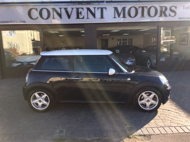 USED 2008 58 MINI HATCH COOPER 1.6 COOPER 3d AUTO 118 BHP