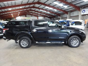 2016 MITSUBISHI L200 2.4 DI-D 4X4 BARBARIAN DCB 178 BHP DOUBLE CAB PICK UP £11795.00