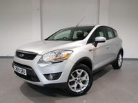USED 2009 09 FORD KUGA 2.0 ZETEC TDCI AWD 5d 134 BHP PARKING SENSORS + CRUISE CONTROL + AUX + FOLDING MIRRORS