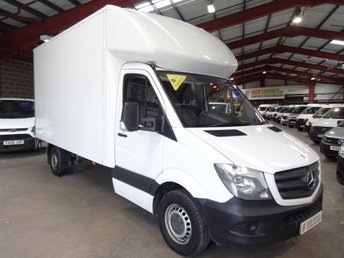 2014 MERCEDES-BENZ SPRINTER 2.1 313 CDI 129 BHP  LUTON VAN WITH TAIL LIFT £12995.00