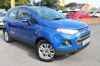 USED 2015 65 FORD ECOSPORT 1.0 ZETEC 5d 124 BHP FULL SERVICE HISTORY - 2 OWNERS FROM NEW - BEAUTIFUL EXAMPLE