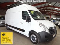USED 2014 14 VAUXHALL MOVANO 2.3 F3500 L3H3 CDTI 125 BHP LWB EXTRA HI ROOF VAN AA DEALER WARRANTY PROMISE - TRADING STANDARDS APPROVED