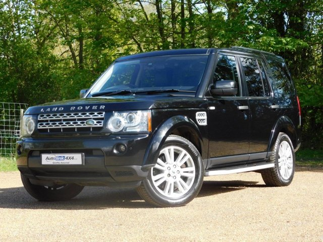 2011 11 LAND ROVER DISCOVERY 4 SDV6 HSE