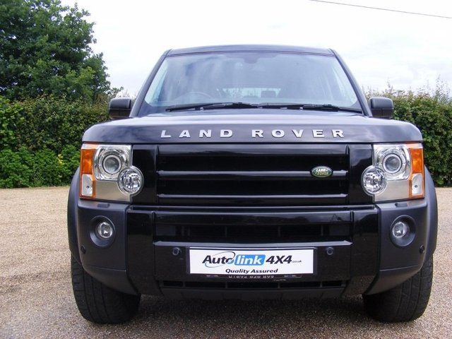 2007 07 LAND ROVER DISCOVERY 3 TDV6 HSE Leather+Nav