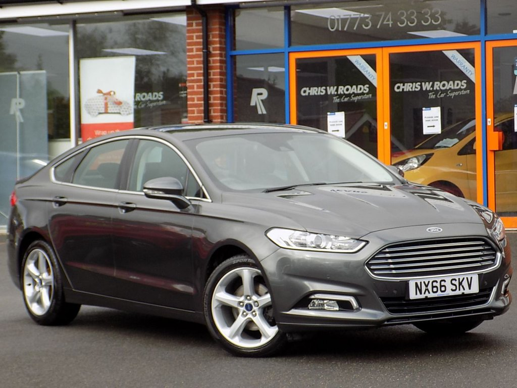USED 2016 66 FORD MONDEO 2.0 TDCi Titanium 5dr *SYNC 3 + Nav + Apple CarPlay*