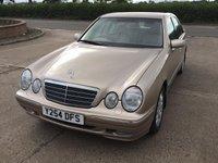 USED 2001 MERCEDES-BENZ E CLASS 3.2 E320 ELEGANCE V6 4d AUTO 221 BHP