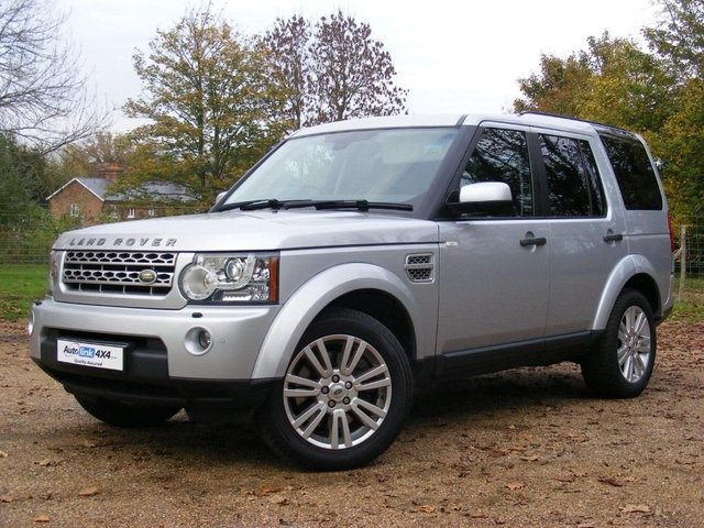 2010 10 LAND ROVER DISCOVERY 4 TDV6 XS