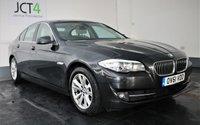 2011 BMW 5 SERIES 2.0 520D EFFICIENTDYNAMICS 4d 181 BHP £5495.00