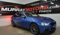 2015 BMW 3 SERIES 2.0 320D M SPORT 4DOOR 188 BHP ESTORIL BLUE *M-PERFORMANCE KITTED* £15995.00