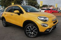 USED 2016 16 FIAT 500X 2.0 MULTIJET CROSS PLUS 5d AUTO 140 BHP FULL SERVICE HISTORY - 1 OWNER FROM NEW - EXCELLENT SPECIFICATION
