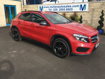 2016 MERCEDES-BENZ GLA-CLASS 2.1 GLA 200 D AMG LINE 5d AUTO 134 BHP NIGHT PACKAGE £18995.00