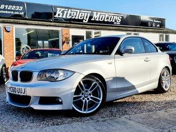 2010 BMW 1 SERIES 123D M SPORT COUPE BIG SPEC £7995.00