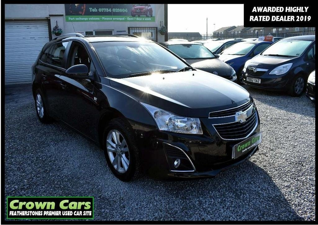 USED 2013 13 CHEVROLET CRUZE 1.6 LT 5dr 3 MONTH WARRANTY & PDI CHECKS