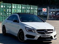 2014 MERCEDES-BENZ CLA 2.0 CLA45 AMG Speedshift DCT 4MATIC (s/s) 4dr £22995.00